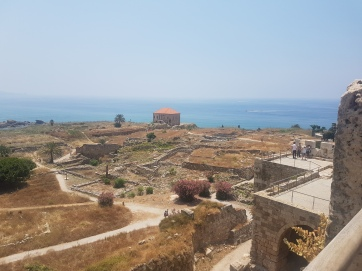 View from a Crusaders' Fortress.